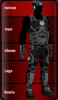 BLACK Special Forces set