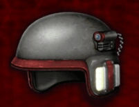 Special Forces Helmet -RED- (Mobile)
