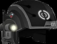 Black Trooper Helmet