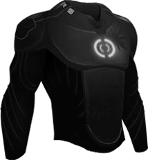 -BLACK- Graphene Body Suit Top