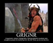 Motiv - grignr