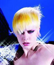 Brassy hair
