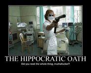 Motiv - hippocratic oath