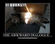 Motiv - awkward dialogue