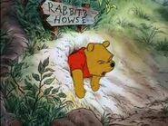 Pooh stuck