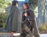 Aragorn with frodo