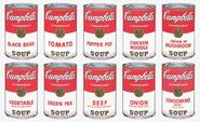 Campbell soup cans