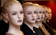 Mannequin heads