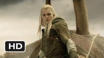 Legolas Slays the Oliphaunt Scene - The Lord of the Rings The Return of the King Movie (2003) - HD
