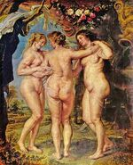 Rubens - three graces