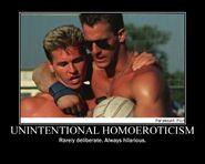 Motiv - unintentional homoeroticism