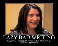 Motiv - smeyer bad writing