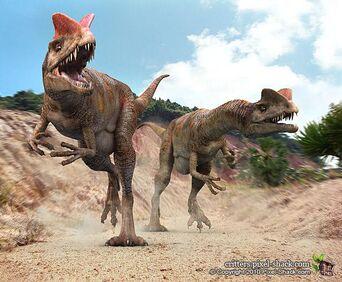 2dilophosaurus