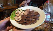 Horsemeat platter