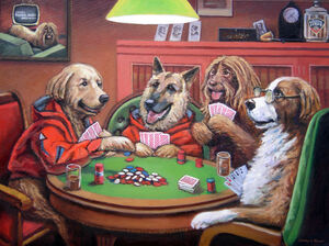 DogsPlayingPokerPainting