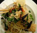 Salade de Boeuf à la Papaye verte