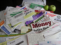 Facing Foreclosure with A Sea of Mail