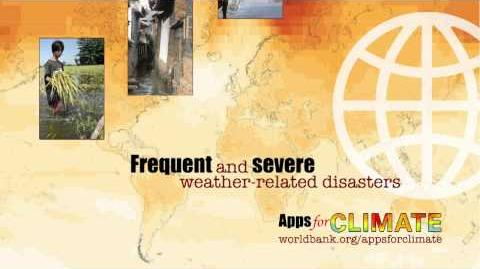 Apps for Climate A competition brought to you by the World Bank