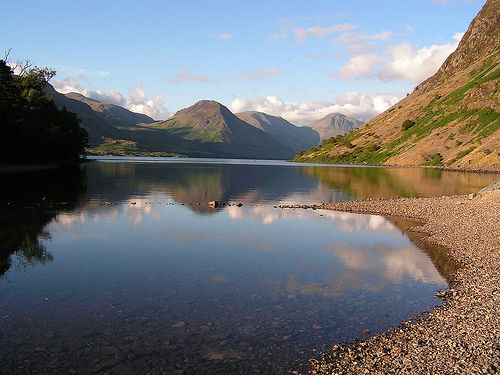File:Wast Water in the evening.jpg