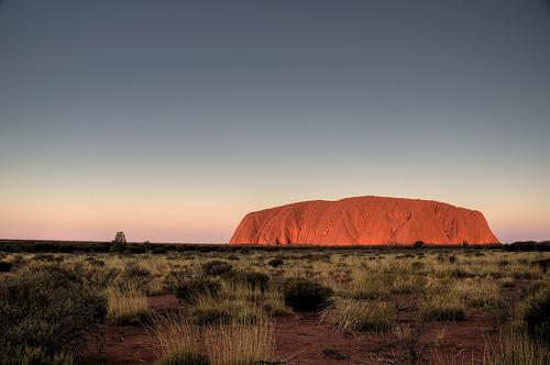 File:We did not climb Uluru.jpg