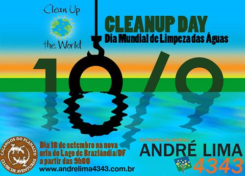 Clean Up Day - Dia Mundial de Limpeza das Águas