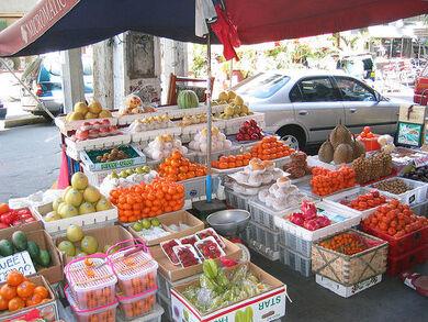 Manila Fruit Vendor - please help identify all the fruit