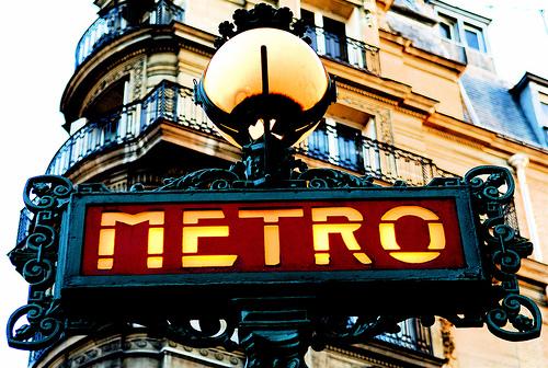 File:Paris Old Metro Signboard.jpg