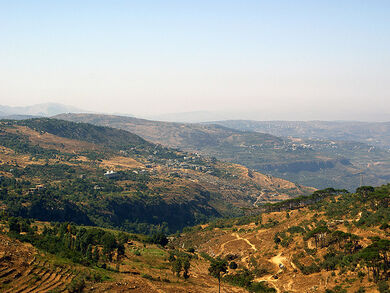A view from Shanay village- Lebanon