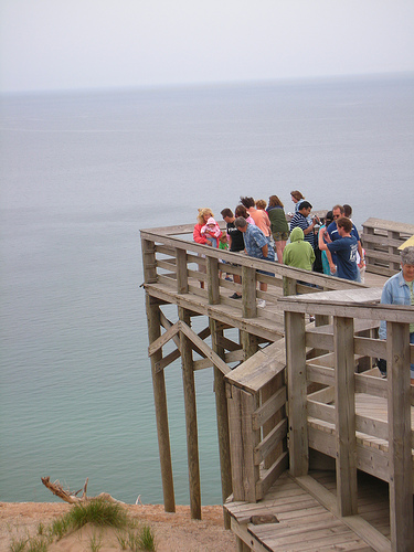 Lake michigan overlook