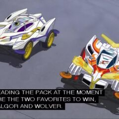 Neck and neck is is Falgor and Wlover, both evolved machines!