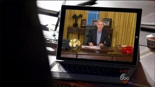 Ellen Is Making Waves on 'Scandal'