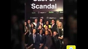 Exclusive Inside Look at the PaleyFest Presenting 'Scandal'