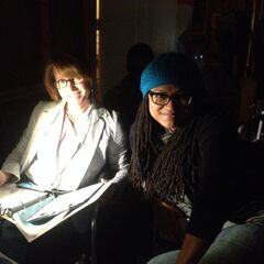 Producer Merri Howard and Director Ava DuVernay.