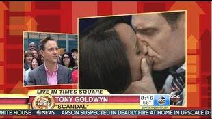 Tony Goldwyn - Behind The Scenes Of The Scandal Finale - GMA