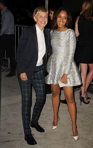 File:2014 LA TGIT Premiere Event - Ellen DeGeneres and Kerry Washington.jpg