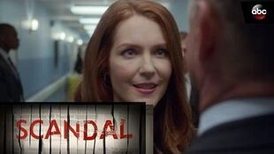 Abby Handles Secret Service Agent - Scandal 6x01