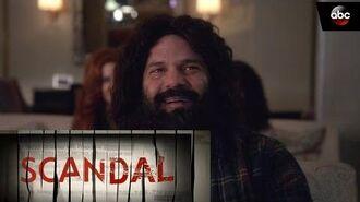 Huck Enjoys 'The Prince' - Scandal 100th Episode