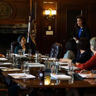The female Senators tell <a href=