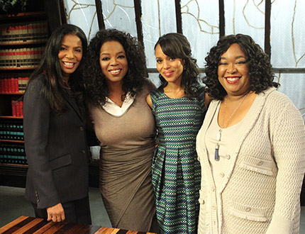 2012 Scandal on Oprah's Next Chapter - Group 01