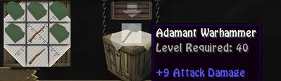 Addy warhammer