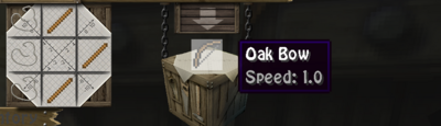 Oak bow