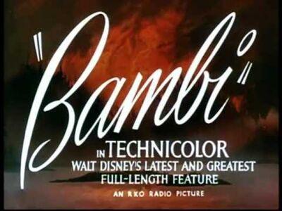Bambi intro
