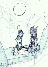 By the Moonwell - Blue and Lau