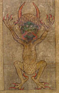Codex Gigas Teufel