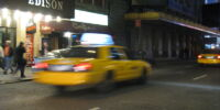 Dracula im Taxi