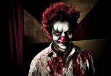 Clownstatue