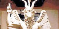 Die Teufelsstatue