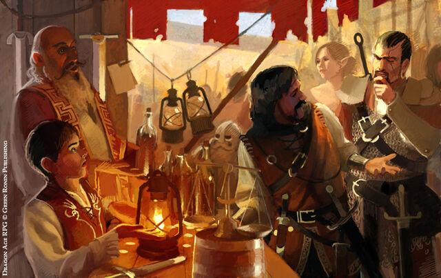 File:Dragon Age Stuff Merchant by Mancomb Seepwood.jpg