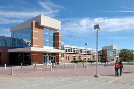 File:High school main entrance.jpg