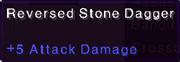 Reversed stone dagger stats